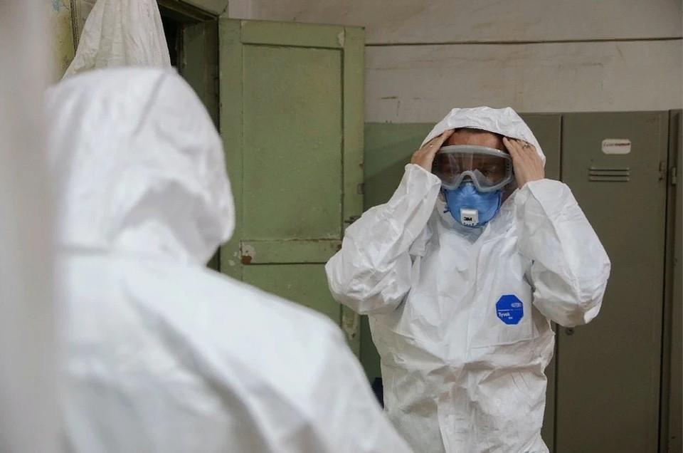 Лечение от коронавируса в ДНР продолжают 2560 пациентов