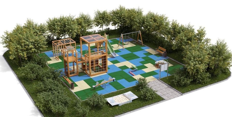 Современные детские городки появятся в Смоленске. Фото: администрация г. Смоленска.