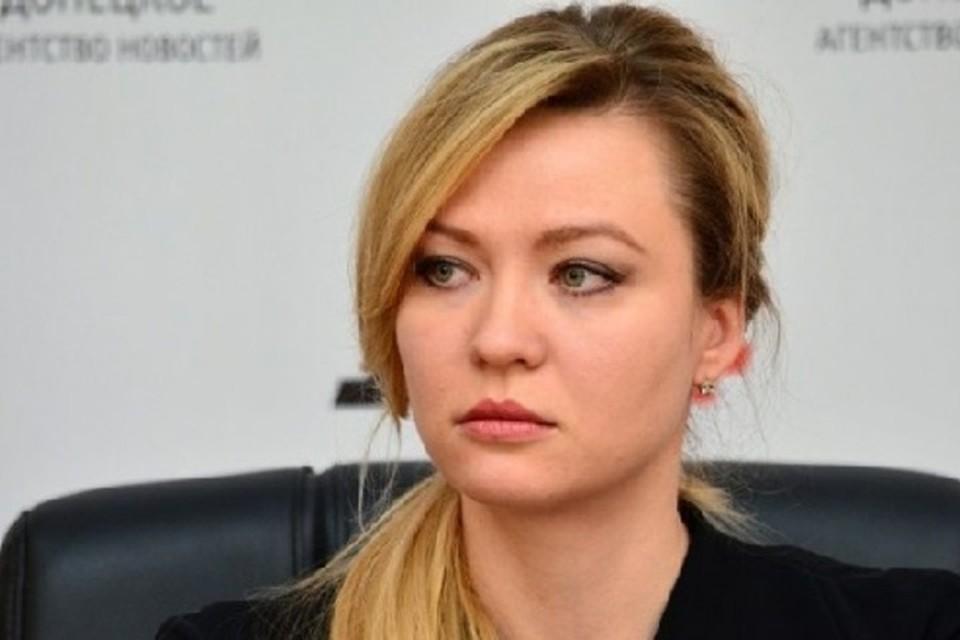 Никонорова прокомментировала политику Киева, касательно постоянно меняющихся условий минских соглашений. Фото: пресс-служба МИД ДНР