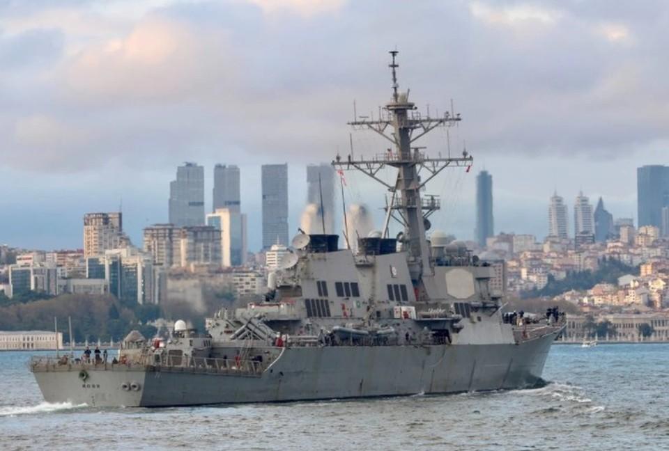 Эсминец ВМС США USS Ross