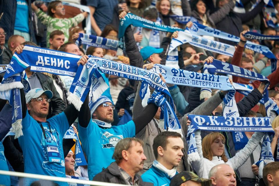"""Двум фанатам """"Зенита"""" запретили посещать стадион в течение года из-за драки на """"Газпром Арене"""""""