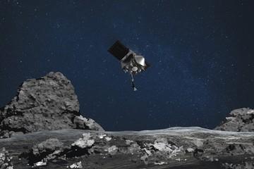 Небывалая миссия: зонд OSIRIS-REx коснулся астероида Бенну и взял пробы с его поверхности