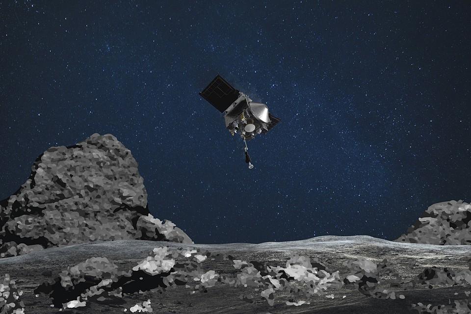 OSIRIS-REx, конечно, не Брюс Уиллис, но на астероиде побывал.