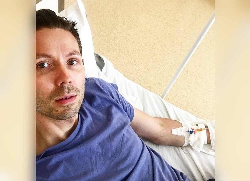 Иван Павловский прошел курс по работе с ковидными больными прямо на больничной койке