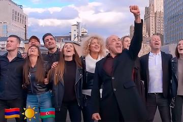 Хор Турецкого и Soprano создали музыкальное послание Армении и Азербайджану