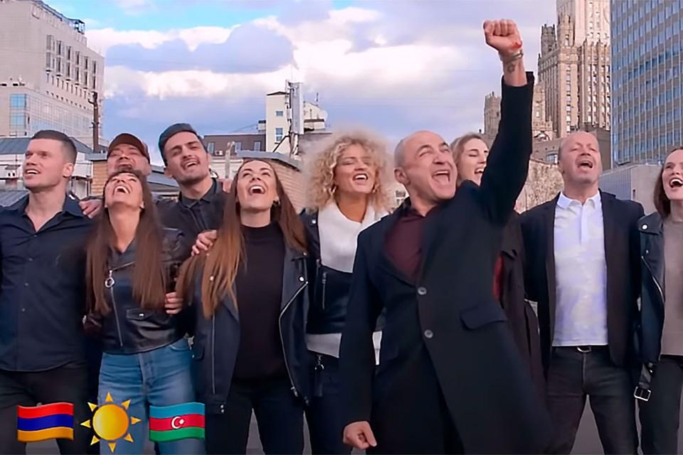 Знаменитые коллективы Михаила Турецкого Хор Турецкого и Soprano объединились, чтобы призвать страны к миру