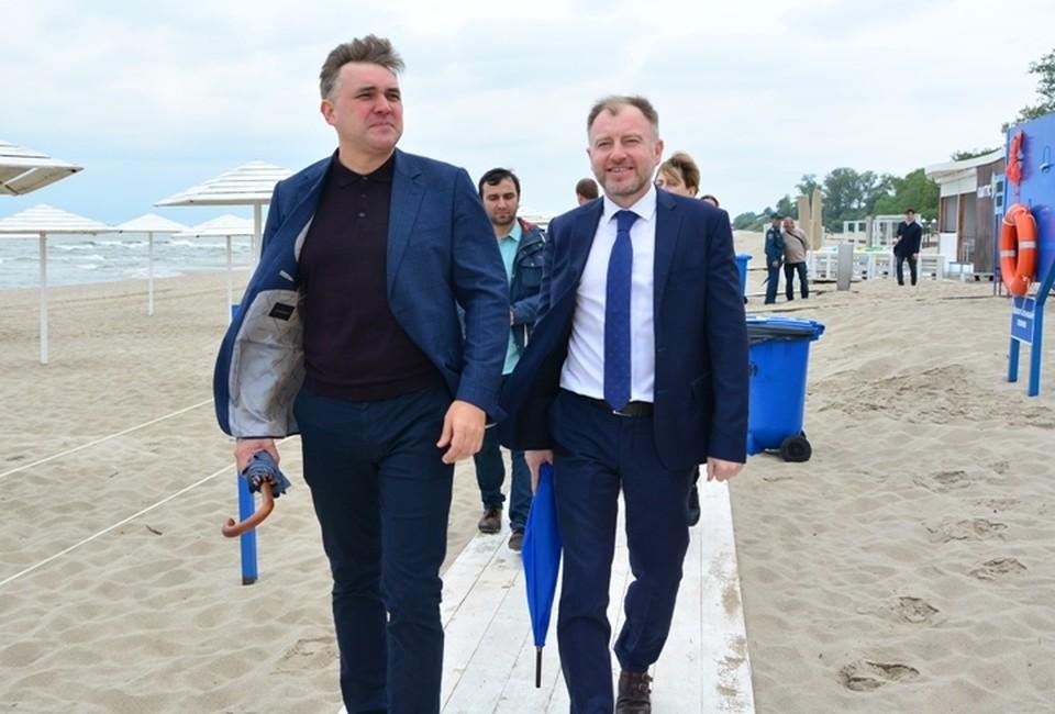 Андрей Ермак (слева) и Алексей Заливатский (справа) часто пересекались по рабочим вопросам.