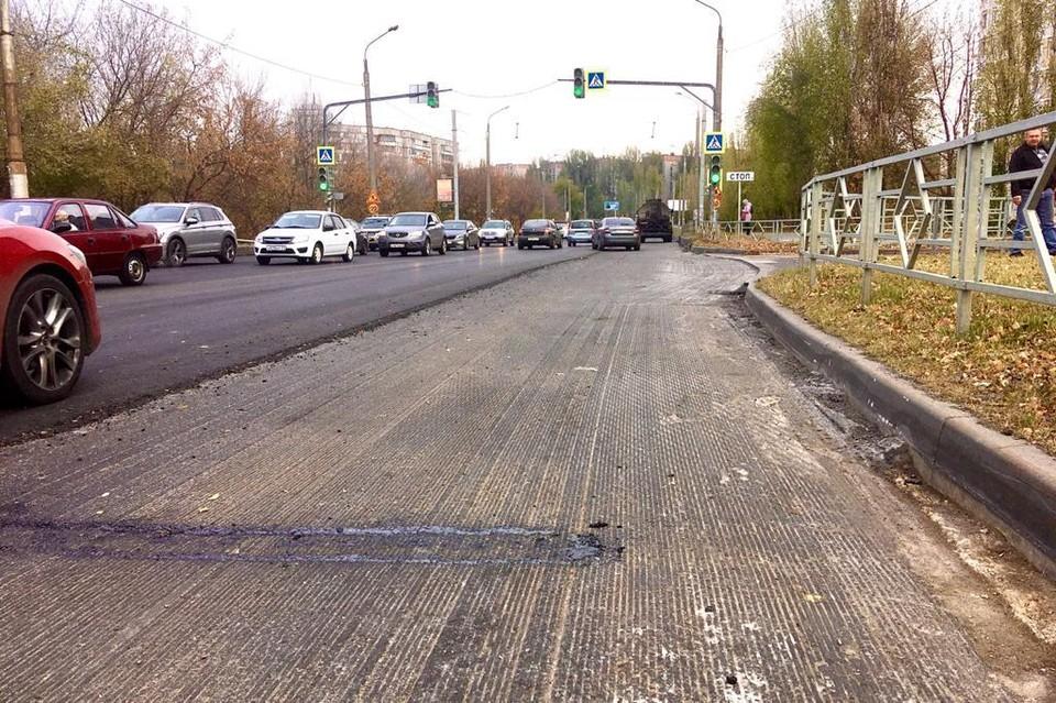 В Липецке продолжается ремонт дорог