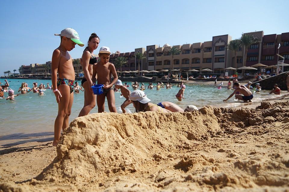 В Египте зимой отличная погода