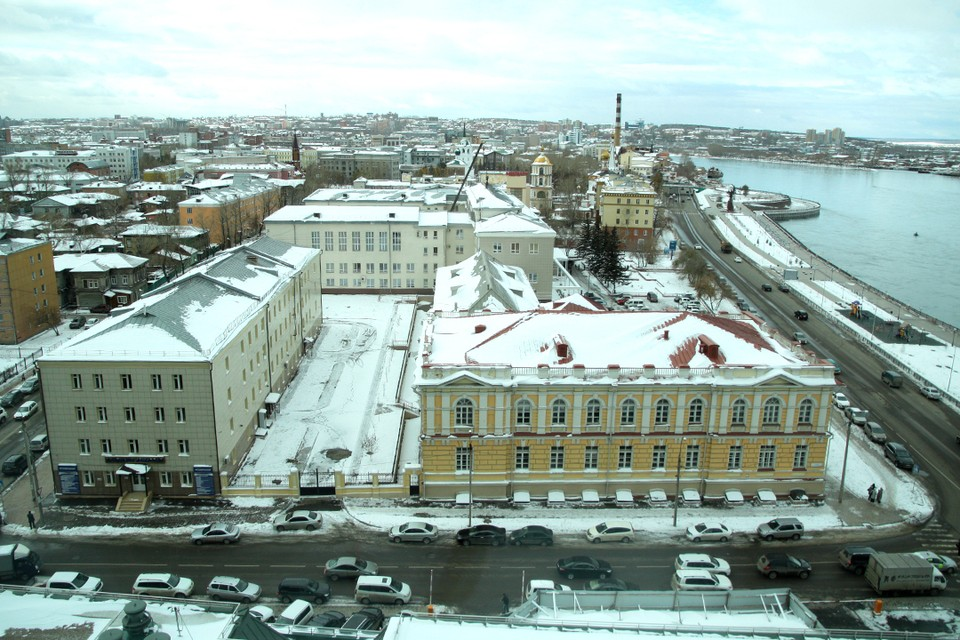 Температура воздуха в Иркутске утром 26 октября ниже нормы