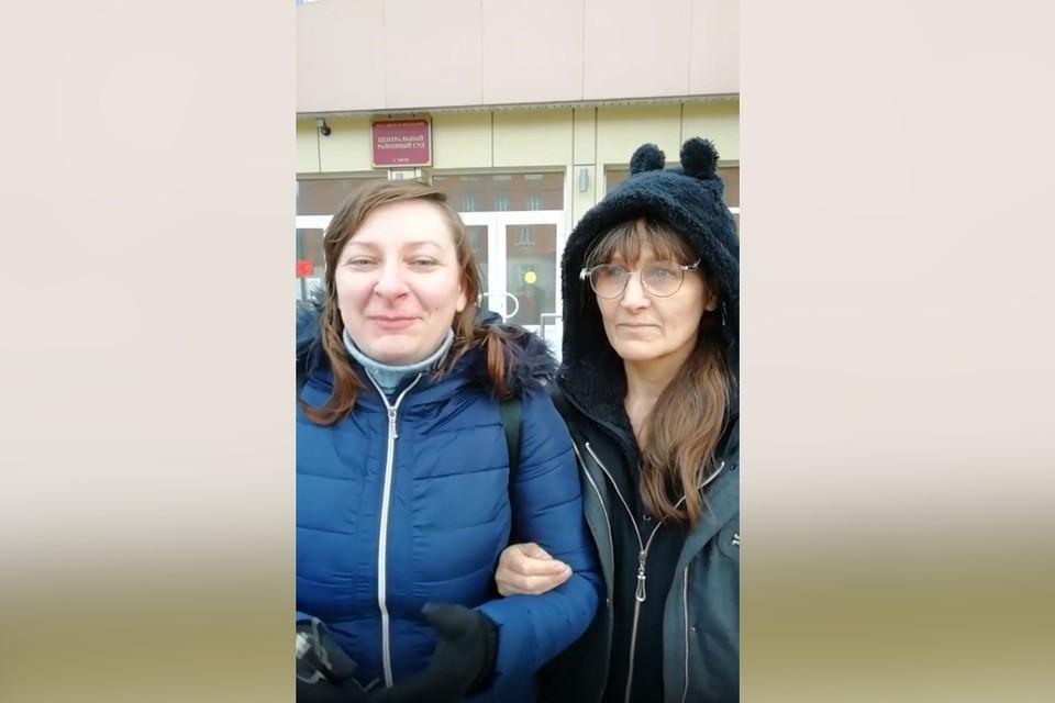 На двое суток в Твери задержали трёх тверичанок без масок. Фото: страница в соцсетях Светланы Завадько – инст/svetlama1974.