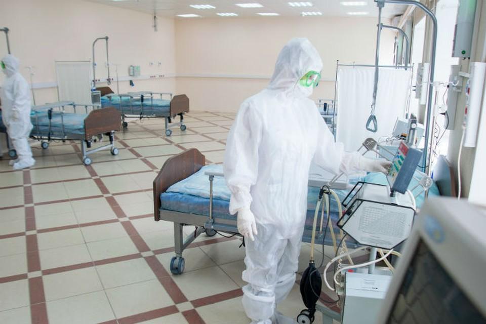 В Ивановской области ежедневно госпитализируют 125 пациентов с CIOVID-19