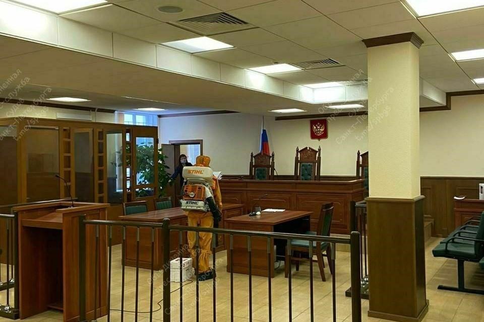 В судах Петербурга вводят усиленный карантинный режим. Фото: ОПС СПб