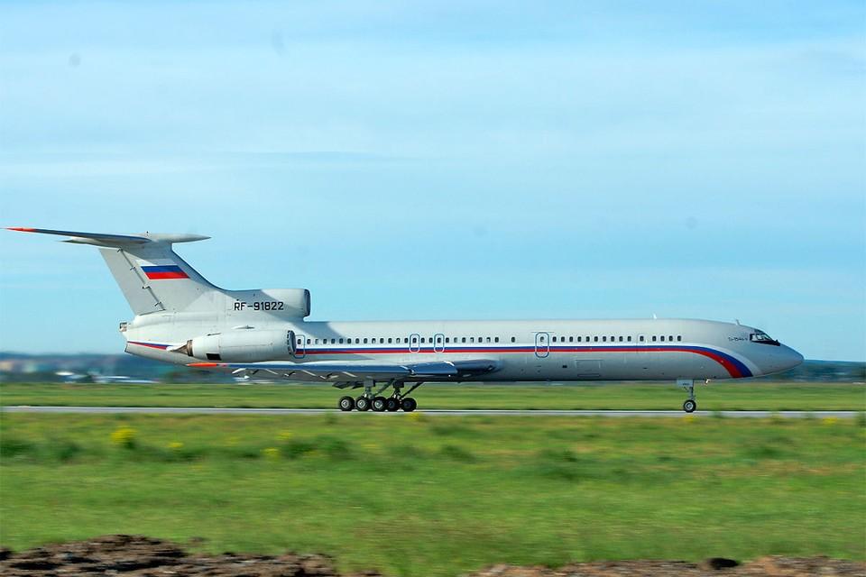 Ту-154 совершил последний гражданский перелет в России