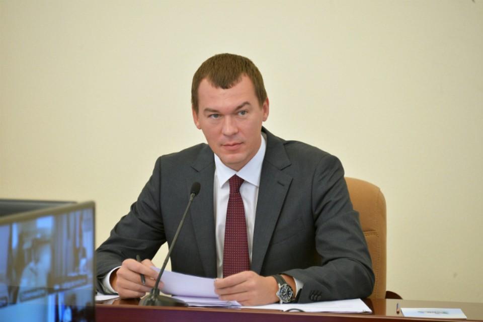 Михаил Дегтярев поехал в Солнечный и Комсомольский районы и в Комсомольск-на-Амуре