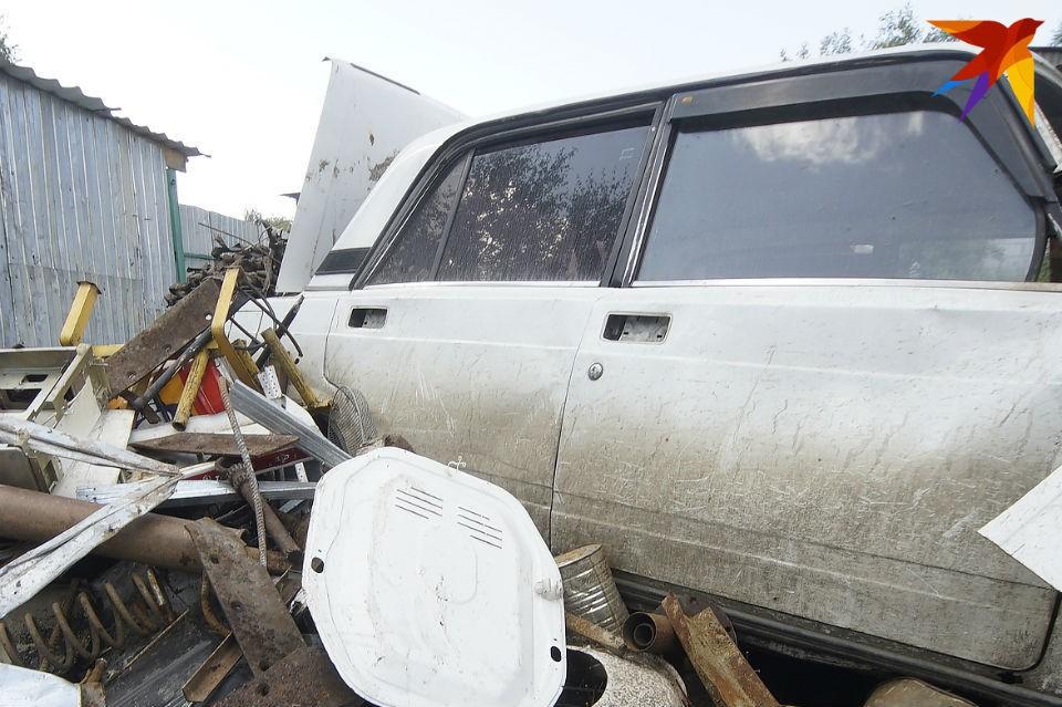 Апатитчанин разрезал машину и сдал на металлолом.