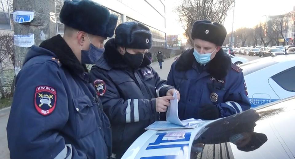 Сначала водитель заявил, что такие номера ему выдали в ГИБДД, но затем поменял свою версию. Фото: УГИБДД по Свердловской области