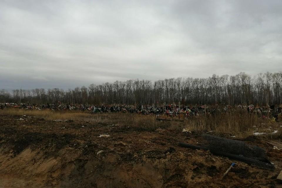 В Ярославле строят новый участок на Осташинском кладбище