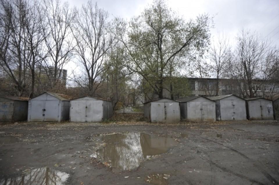 В центре Новокузнецка снесут гаражи