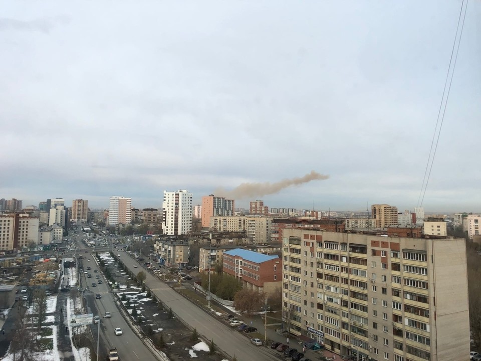 В Челябинске прогремел взрыв
