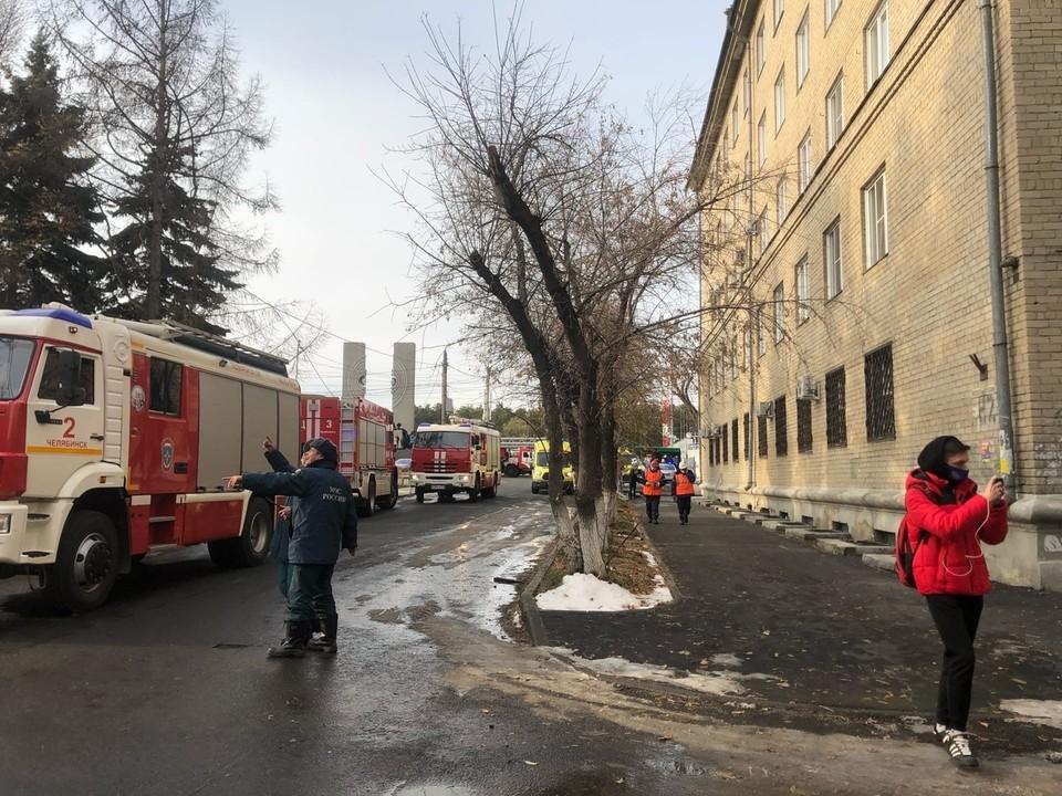 Будка взорвалась возле больницы