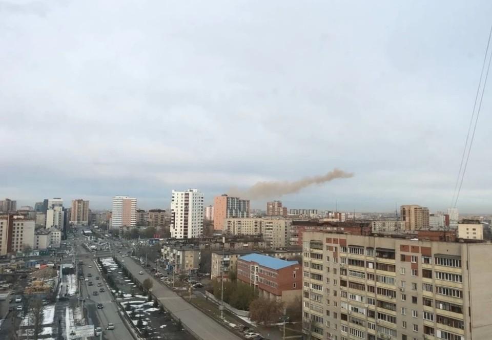 МЧС опровергла сообщение о двоих погибших после взрыва в больнице Челябинска. Фото: читатель КП.