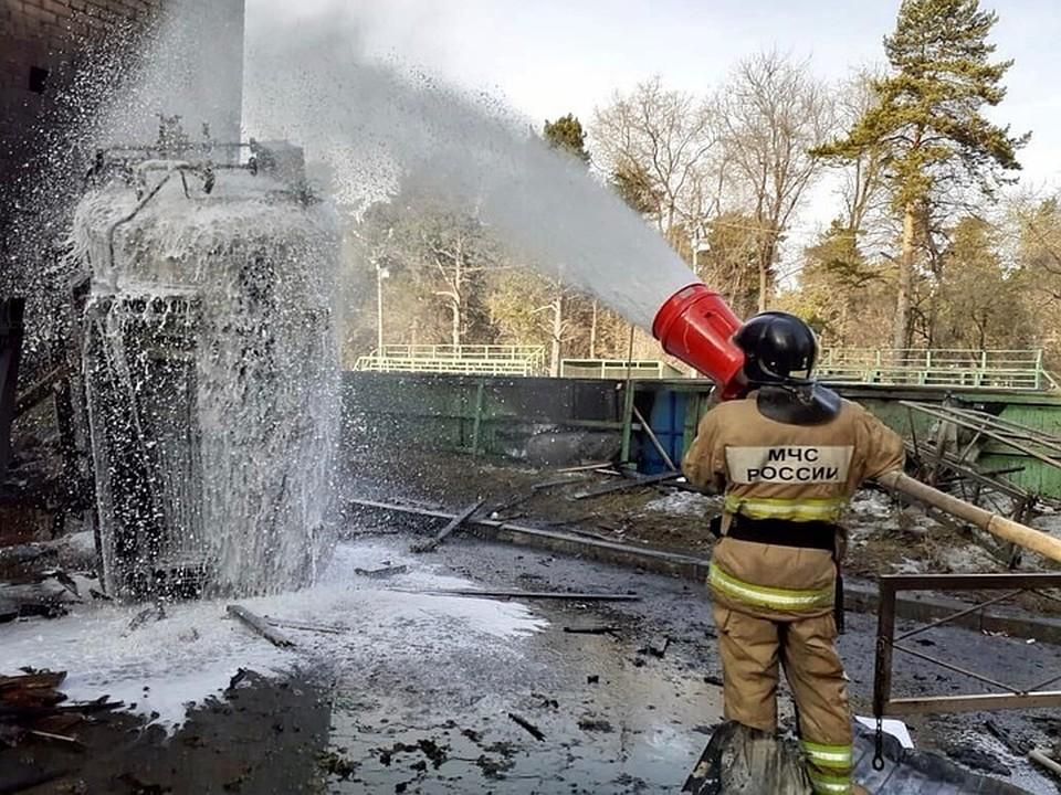 Насколько опасно оборудование пока неясно. Фото: Пожарный надзор по г. Челябинск