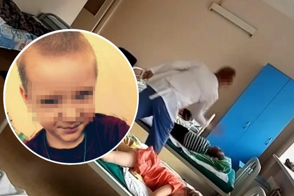 Медсестра, которая ударила ребенка, не знала, что мамочка из соседней палаты все записала. Фото: личный архив.