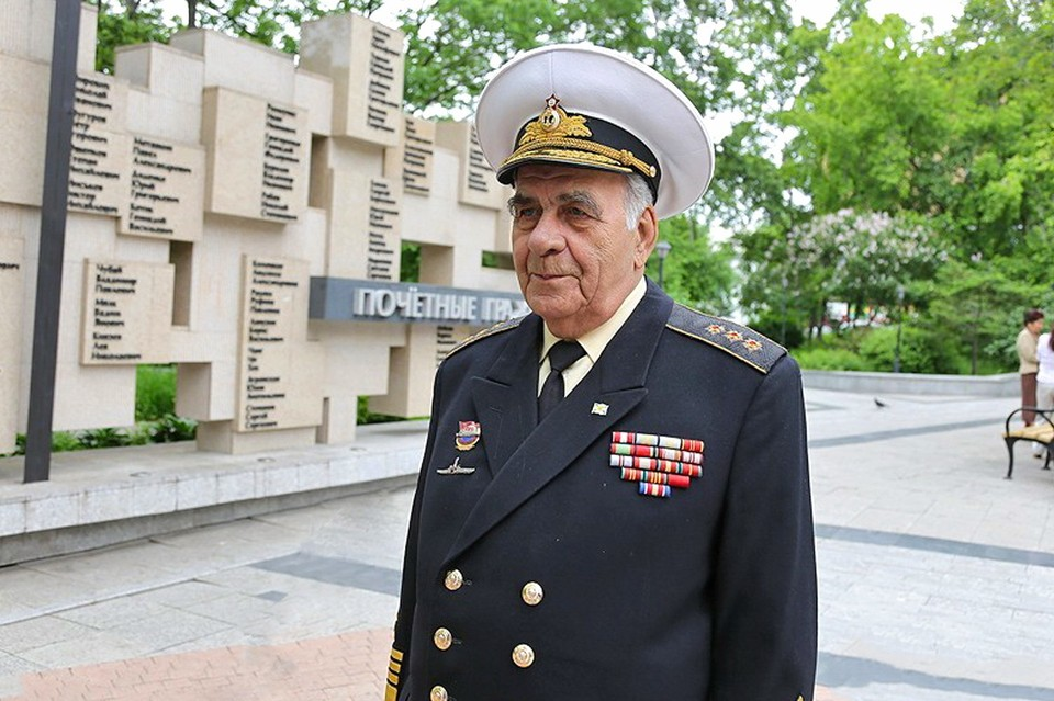 Почетный гражданин Владивостока, бывший командующий ТОФ, адмирал Геннадий Хватов