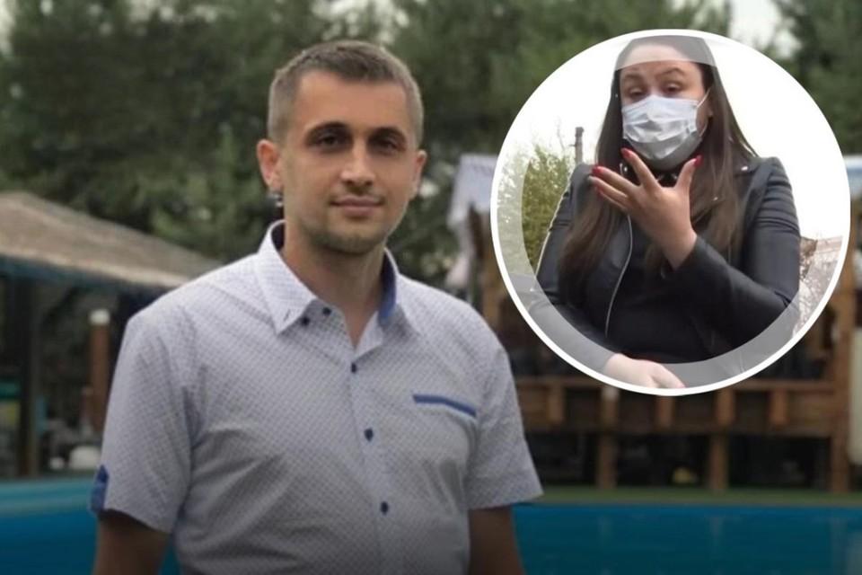 После смерти Романа Гребенюка Ануш Мелконян с семьей скрывается от людей. Фото: соцсети, Первый канал