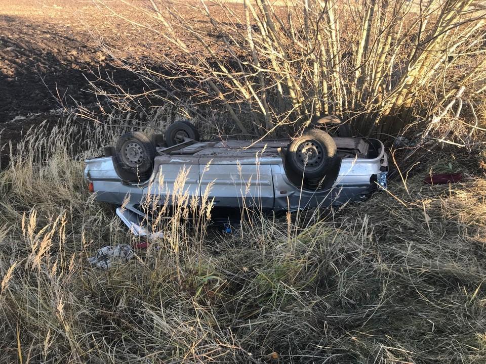 В аварии пострадала 12-летняя девочка. Фото Госавтоинспекции Орловской области.