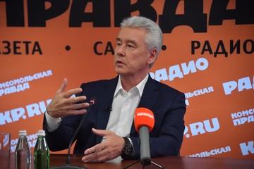 """Собянин: """"Начало 2021-го будет тяжёлым, но к концу года все будет хорошо"""""""
