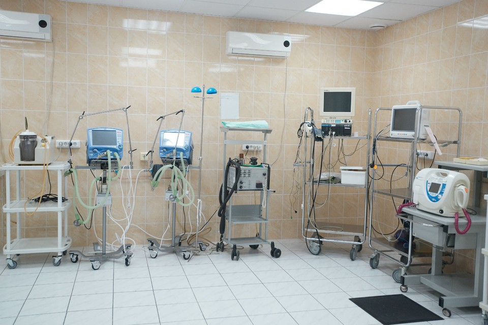 64 аппарата уже поставлены в больницы региона