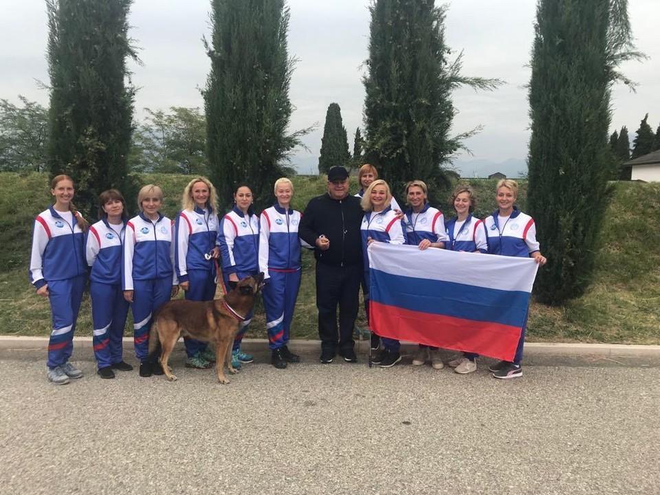 По результатам первенства сборная команда кинологов России стала абсолютным чемпионом Европы в командном зачете. Фото: Анна ШИЛИНА