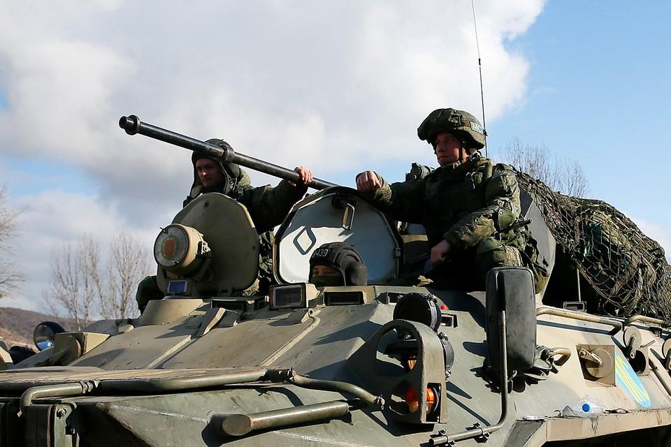 14 ноября было завершено развертывание российских наблюдательных постов. Здесь находится 15-я мотострелковая миротворческая бригада