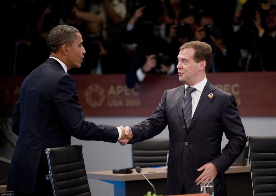 Барак Обама рассказал о неожиданных итогах первой встречи с Дмитрием Медведевым