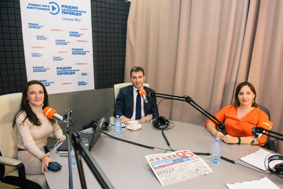 В студии радио Комсомольская правда обсудили итоги 8 месяцев борьбы с коронавирусом