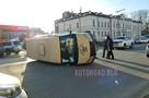 Сын министра транспорта в Приамурье протаранил машину инкассаторов