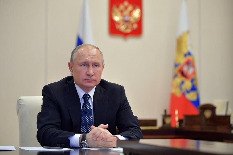 Путин раскритиковал ситуацию с осваиванием средств на борьбу с коронавирусом