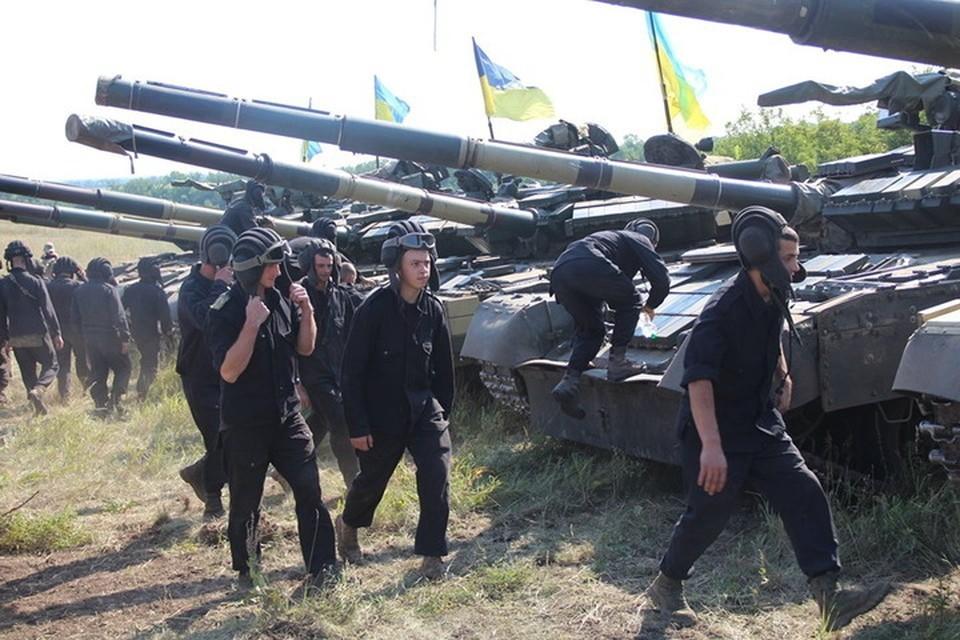 Украинские военные готовятся к блицкригу в Донбассе. Фото: Пресс-центр штаба ООС