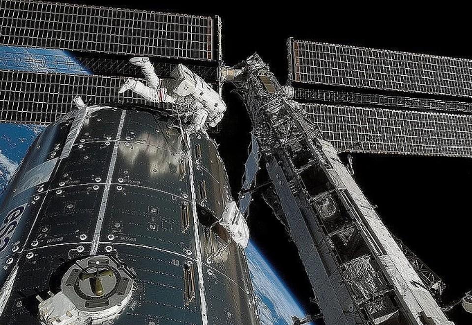Космонавты не смогли выполнить задачу по ремонту системы терморегулирования модуля «Заря»