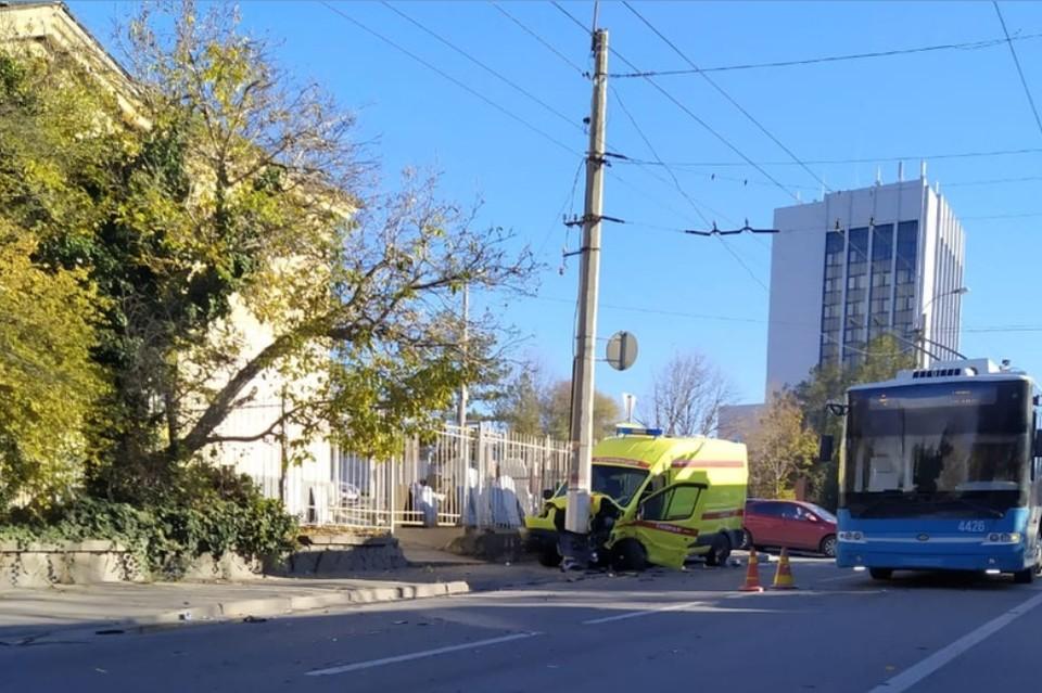 В ДТП пострадали пять человек. Фото: КП-Крым