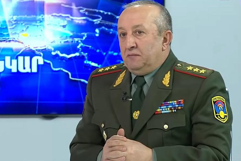 Генерал-полковник Мовсес Акопян.