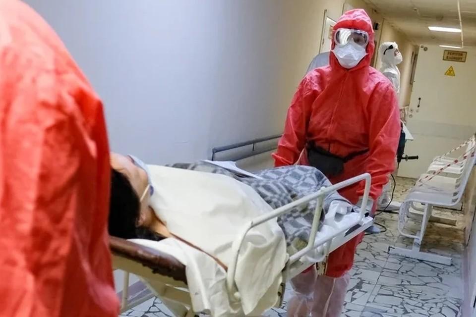 Власти Санкт-Петербурга сообщили о выходе на плато по госпитализации больных коронавирусом.