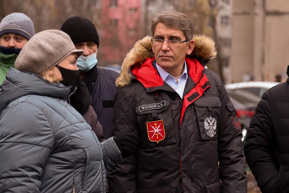 Дмитрий Миляев:Позиция жителей играет важную роль в реализации городских проектов