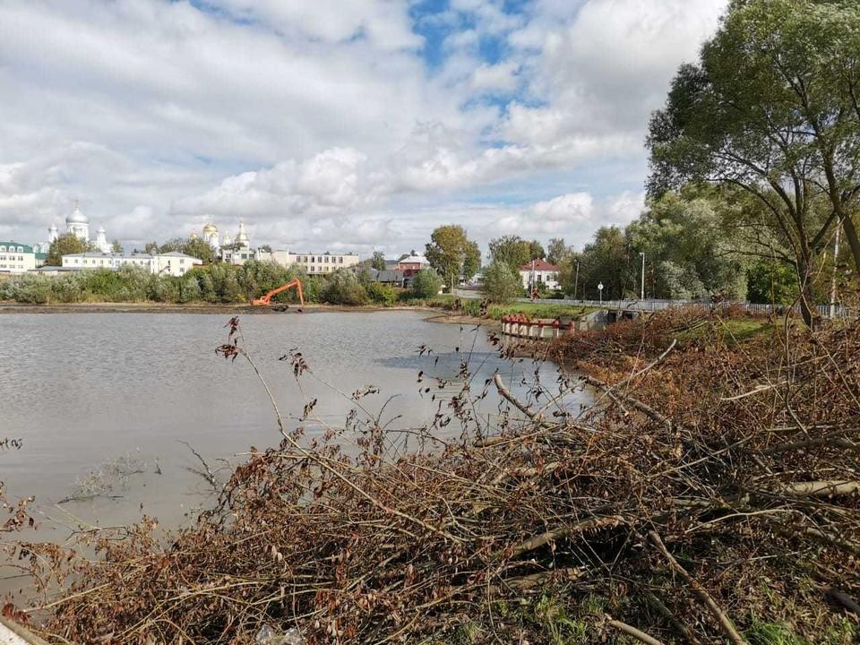 Для расчистки реки Борзовки в Нижнем Новгороде выбрали подрядчика