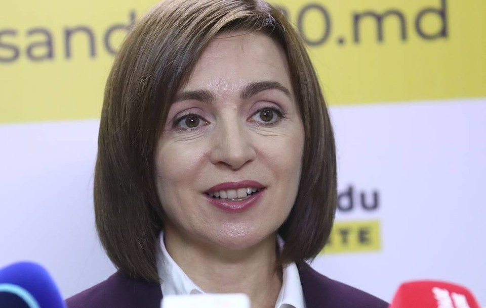 Майя Санду победила на выборах президента Молдовы. Фото:Валерий Шарифулин/ТАСС.