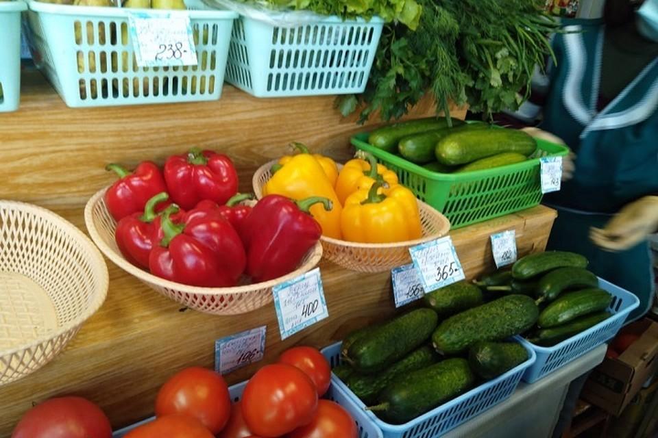 Стоимость многих товаров зависит от сезона, как, например, овощей