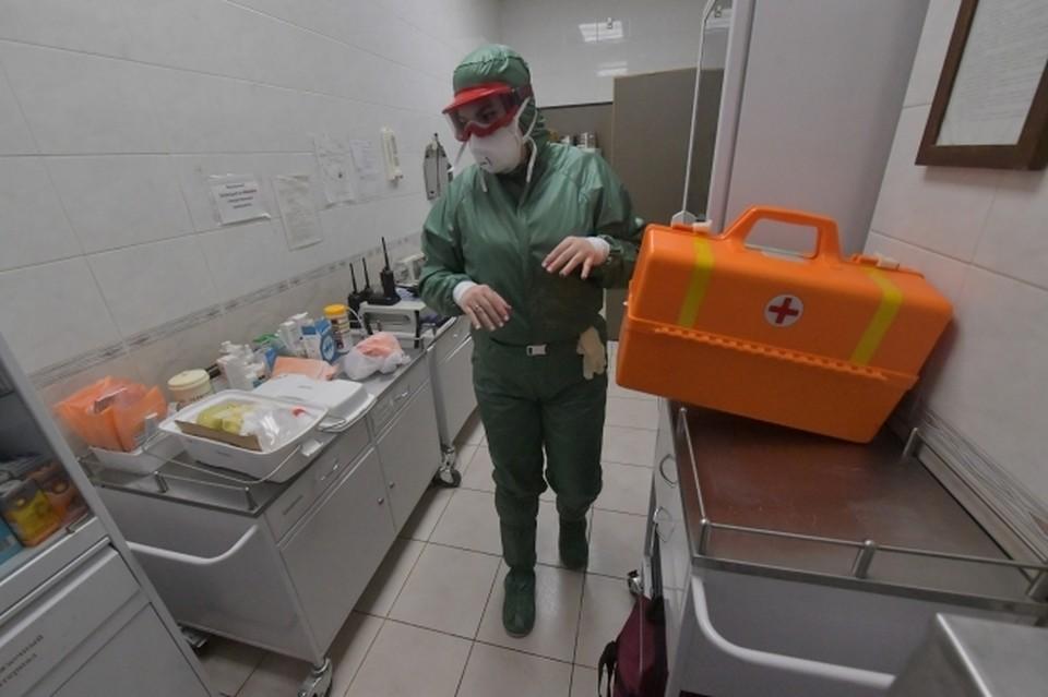 В больницах и стационарах с COVID-19 и пневмониями находятся 1 314 человек
