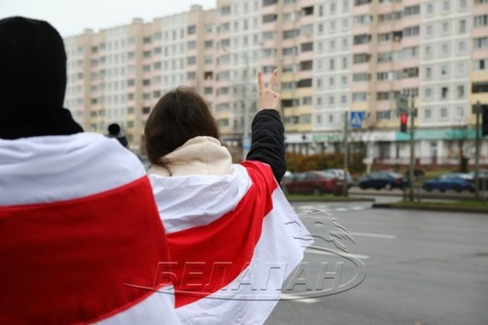 В Минске на акции протеста 22 ноября были задержаны более 200 человек. Фото: БелаПАН